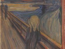"""Un graffiti signé Munch sur son célèbre """"Cri"""""""