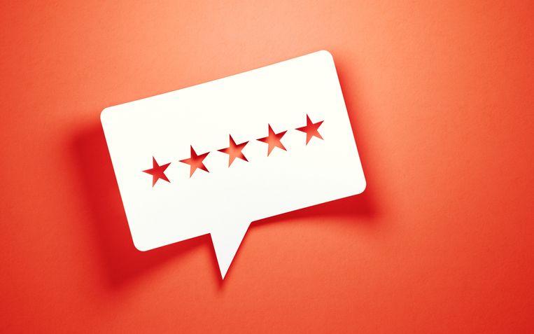 Bijna driekwart van de Nederlanders zegt reviews mee te laten wegen in het aankoopproces online.  Beeld Getty Images/iStockphoto