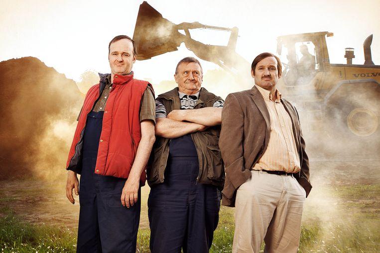 Peter Thyssen, Jaak Van Assche en Jan Van Looveren. Beeld rv