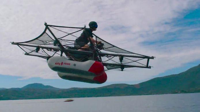 Meer een drone dan een vliegende auto
