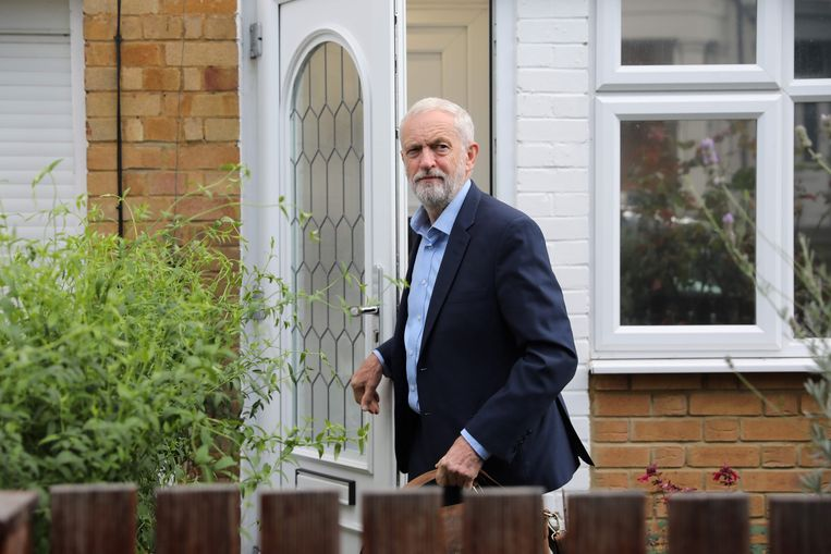 Labour-leider Jeremy Corbyn. Beeld AFP