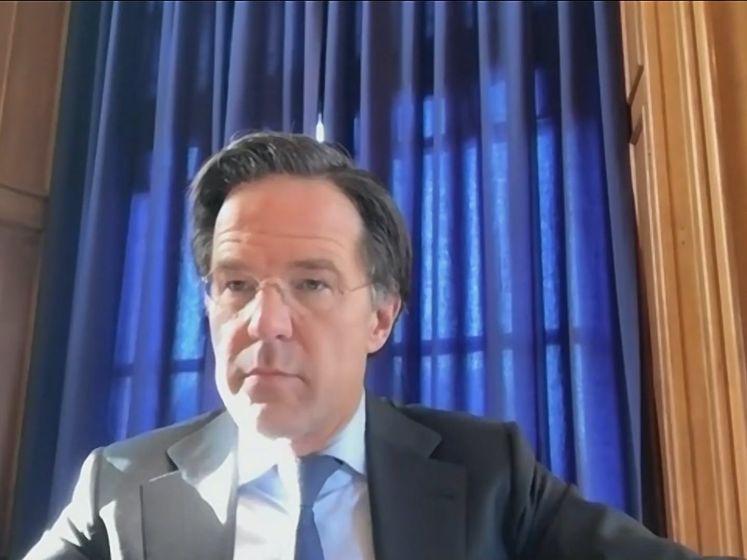 Rutte: niet regeren met racistische FvD en wegloper Wilders