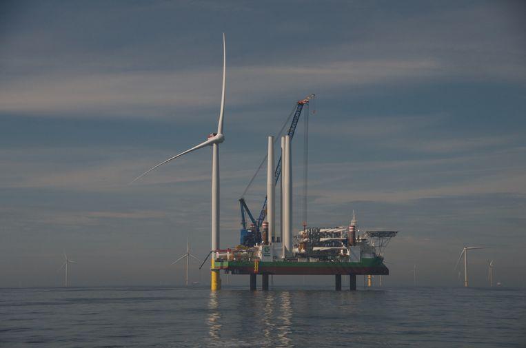 Windpark Borssele.  Beeld Jeffrey Kutterink