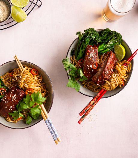 Wat Eten We Vandaag: Noedels met spareribs