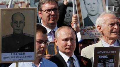 """Poetin: """"We moeten beseffen dat de wereld kwetsbaar is"""""""