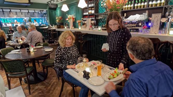 Botermals vlees bij Bar Bistro Bleue in Breda