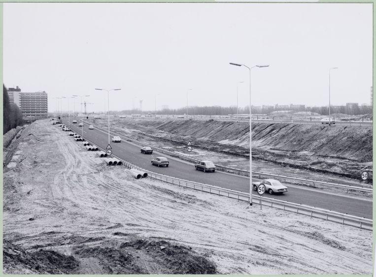 Uitbreiding Rijksweg A10 Beeld Stadsarchief Amsterdam