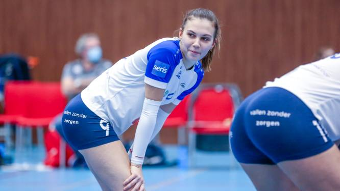 """Lotte De Quick (VDK Gent): """"Duel met Ladies Volley Limburg is belangrijk, maar er kan nog veel gebeuren tot play-offs"""""""