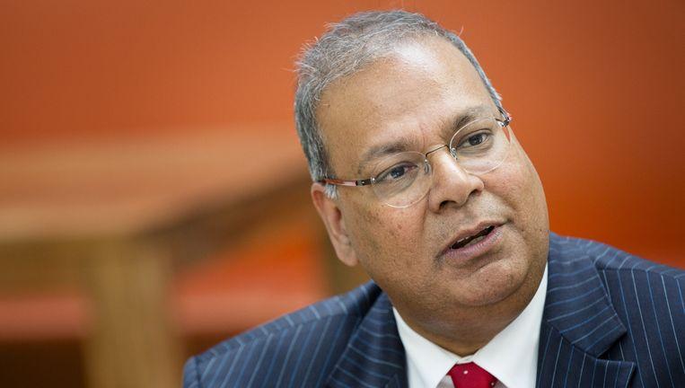 De Haagse wethouder Rabin Baldewsingh vind de heftigheid waarmee het integratiedebat wordt gevoerd on-Nederlands Beeld anp