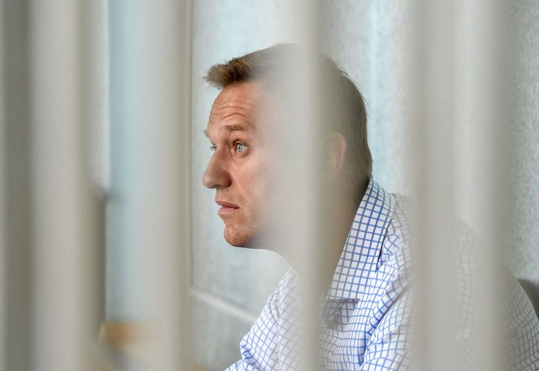 FBK is de anticorruptiestichting van de Russische oppositieleider Aleksej Navalny.  Beeld AFP