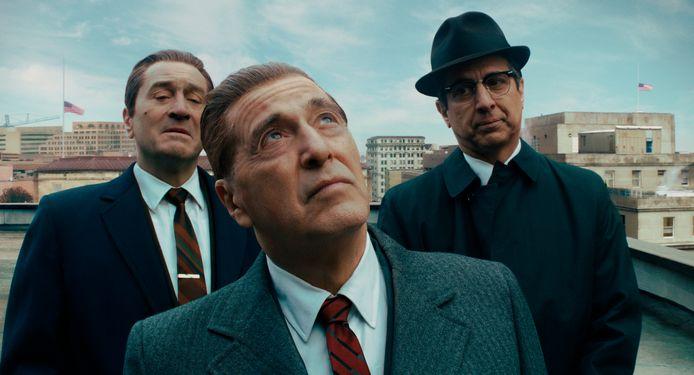 "Robert De Niro, Al Pacino et Ray Romano dans ""The Irishman""."
