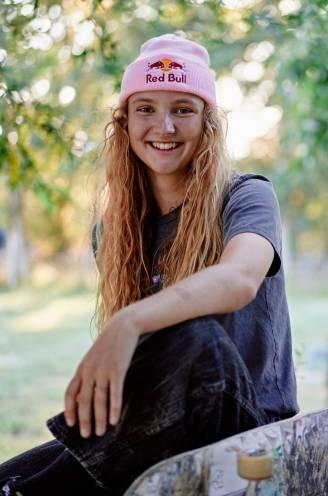 """Skateboarder Lore Bruggeman (19) naar Olympische Spelen: """"Vroeger durfde ik niet naar het skatepark, want ik had schrik van de grote jongens"""""""