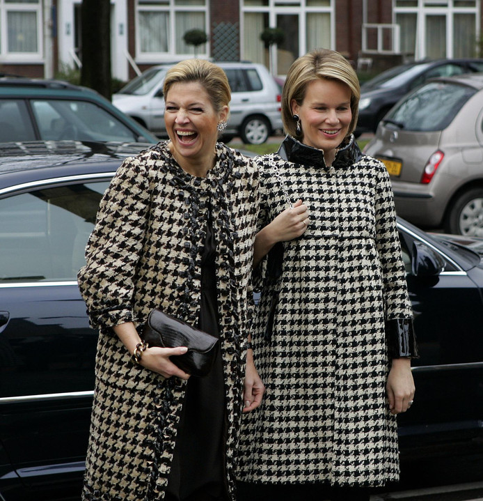 Koningin Máxima kan wel om deze modeblunder lachen.