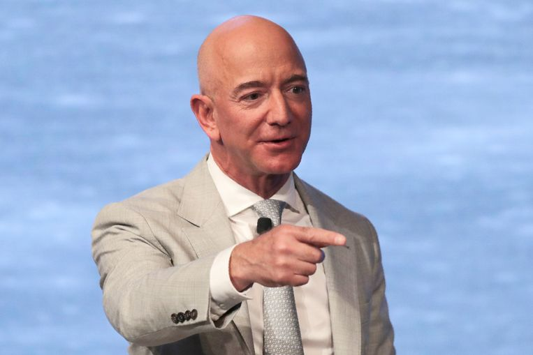 Amazon-CEO Jeff Bezos. Beeld AP