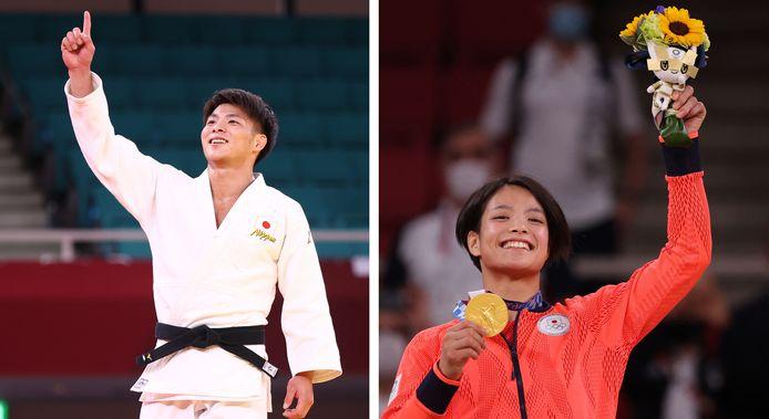 Deux médailles d'or le même jour: les Abe ont réussi leur pari!