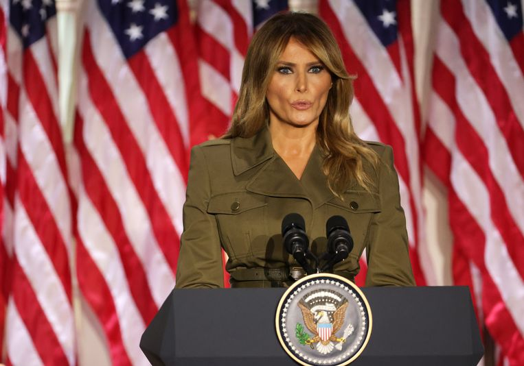 First Lady Melania Trump. Beeld Getty Images