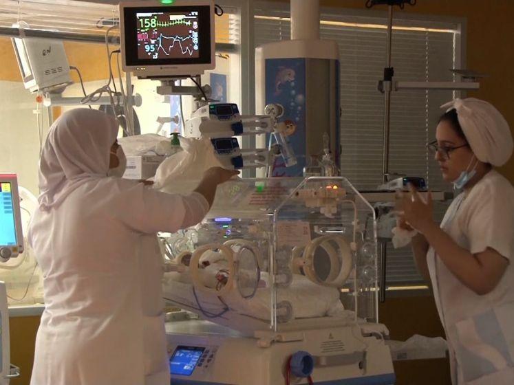 Malinese vrouw in Marokko bevallen van negen gezonde baby's