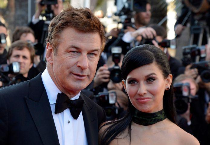 Alec Baldwin en zijn vrouw Hilaria.