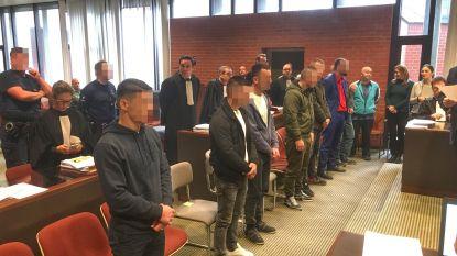 Celstraffen tot 10 jaar en bijna 3 miljoen euro boete gevraagd voor Albanese smokkelbende