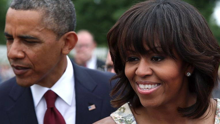 Barack en Michelle Obama. Beeld BELGA