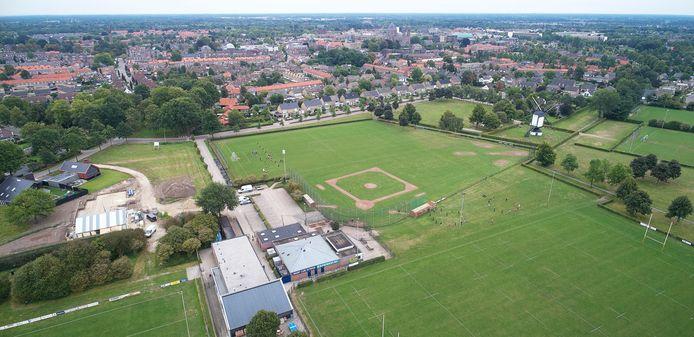 Op Park Moleneind in Uden zitten drie sportclubs op een kluitje.