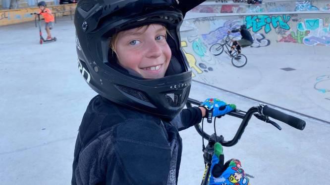 Elfjarige Lars neemt opnieuw deel aan internationale BMX-wedstrijd