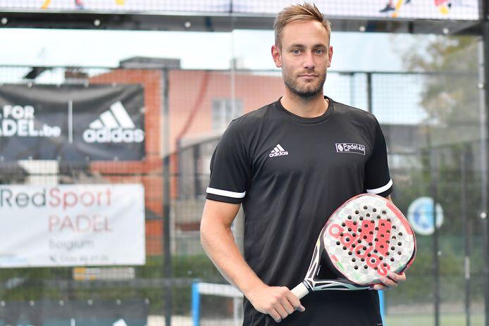 Nick Braet speelde met Jeremy Gala de kwartfinale op het APT-toernooi in Luik.