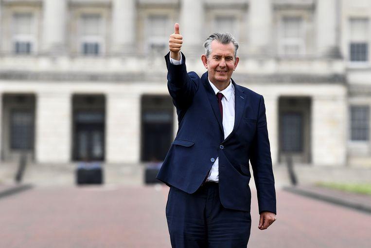 Edwin Poots, Noord-Iers minister van Landbouw en de nieuwe leider van de Democratic Unionist Party Beeld REUTERS