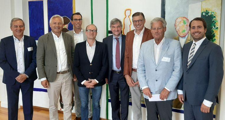 Wilfried Vandaele en Ben Weyts kwamen naar Zeebrugge.