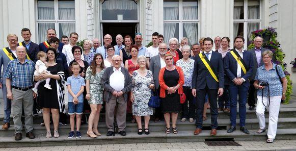 De familie Geerinckx.
