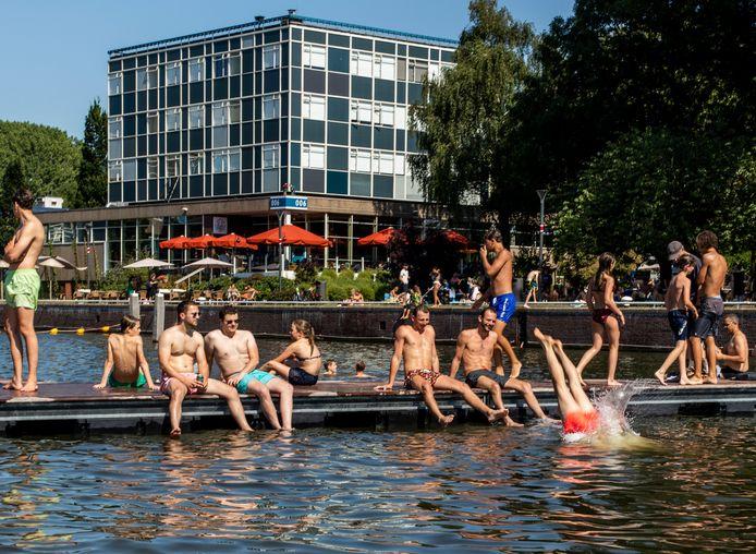 Het Marineterrein wordt meer en meer gezien als de 'groene achtertuin' van Amsterdam.