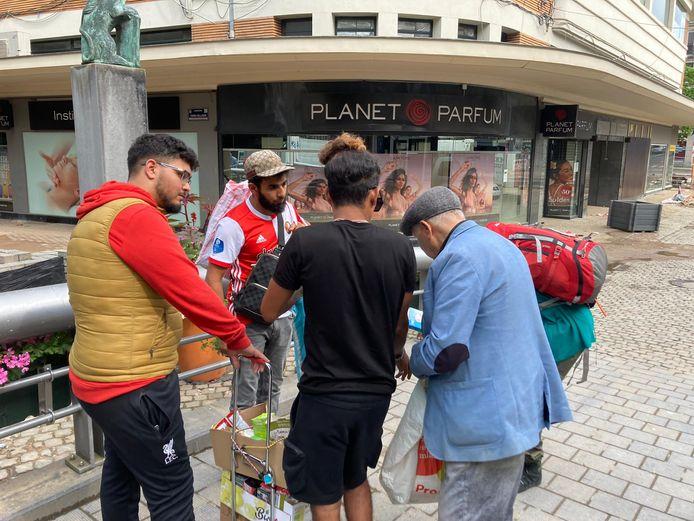 Jongeren hielpen afgelopen week in Verviers als vrijwilligers. Ze waren danig onder de indruk