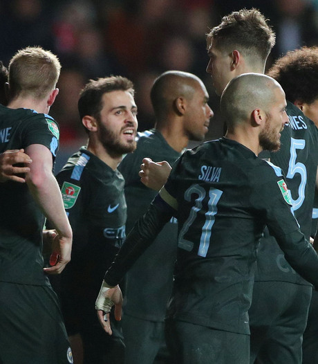 Manchester City voorkomt stunt Bristol en bereikt finale League Cup