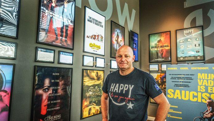 Alain Himpe, manager van Kinepolis Kortrijk