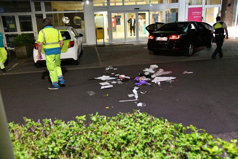 Twee slachtoffers werden gedumpt voor de ingang van het Erasmus-ziekenhuis
