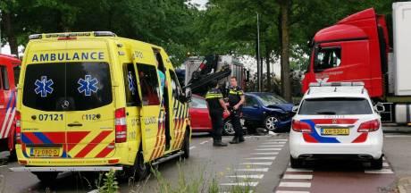 Een gewonde bij ongeluk in Ede; Galvanistraat afgesloten voor verkeer