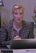 Mariska Sturkenboom van DorpsGoed stelde donderdag vragen over de kwestie rond De Raadskamer in Sint-Michielsgestel.