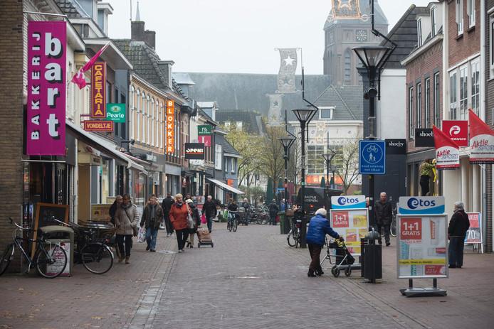 De Marktstraat in Zevenaar.