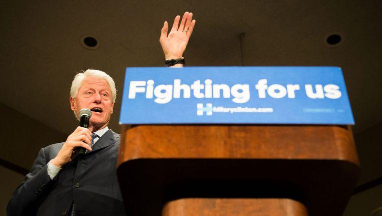 Bill Clinton. Beeld afp