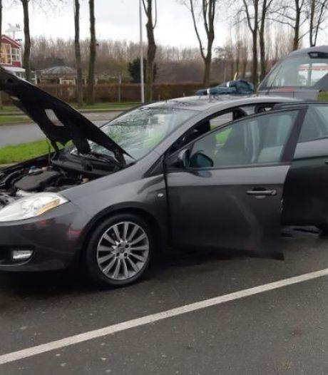 Dieven weten niet van ophouden: auto opnieuw gevuld met verdachte vuilniszakken
