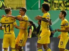 Dortmund ontsnapt aan afgang in Duits bekertoernooi