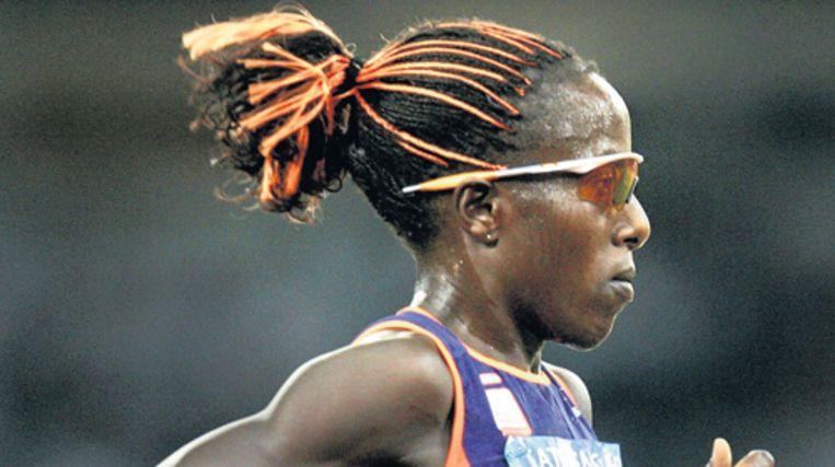 Lornah Kiplagat, Nederlandse marathonkampioene, zet zich in voor kansloze meisjes in haar geboorteland Kenia. Foto ANP Beeld