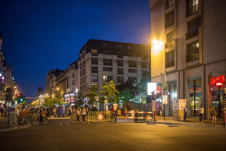 Archiefbeeld van de Brusselse voetgangerszone.
