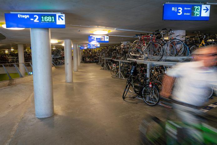 De fietsenstalling op station Arnhem Centraal, foto ter illustratie.