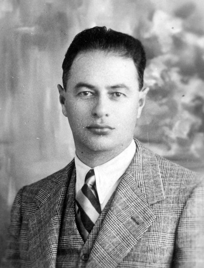 De vermoorde joodse trainer Árpád Weisz (1896-1944).