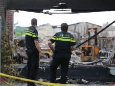 Groot drugslab aangetroffen in afgebrande loods in Wouwse Plantage