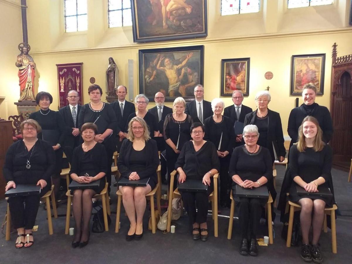 Het Marcato-koor.