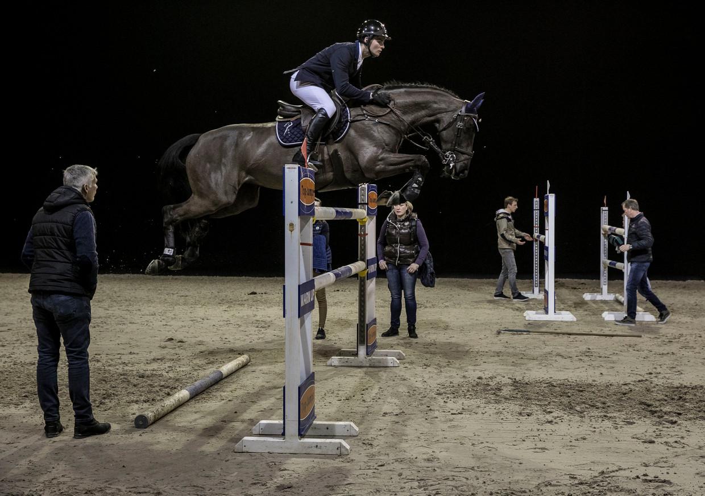Jumping Amsterdam in de RAI. Beeld Amaury Miller