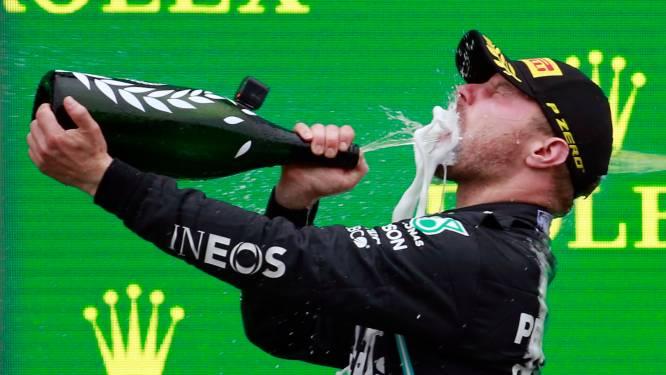 Bottas staat niet langer droog: 'Ga thuis een lekker groot biertje drinken'