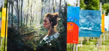 Deze kunstenaars maakten een schilderij voor megakunstproject The Colorfield Performance: 'De variatie is enorm'